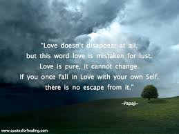 papaji quote on love